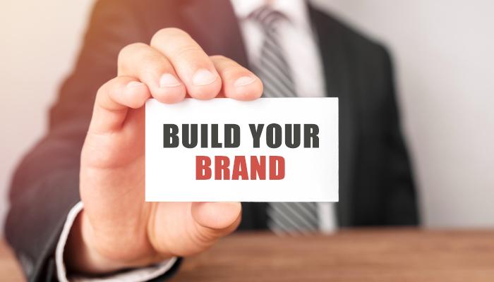 Financial advisors building a brand